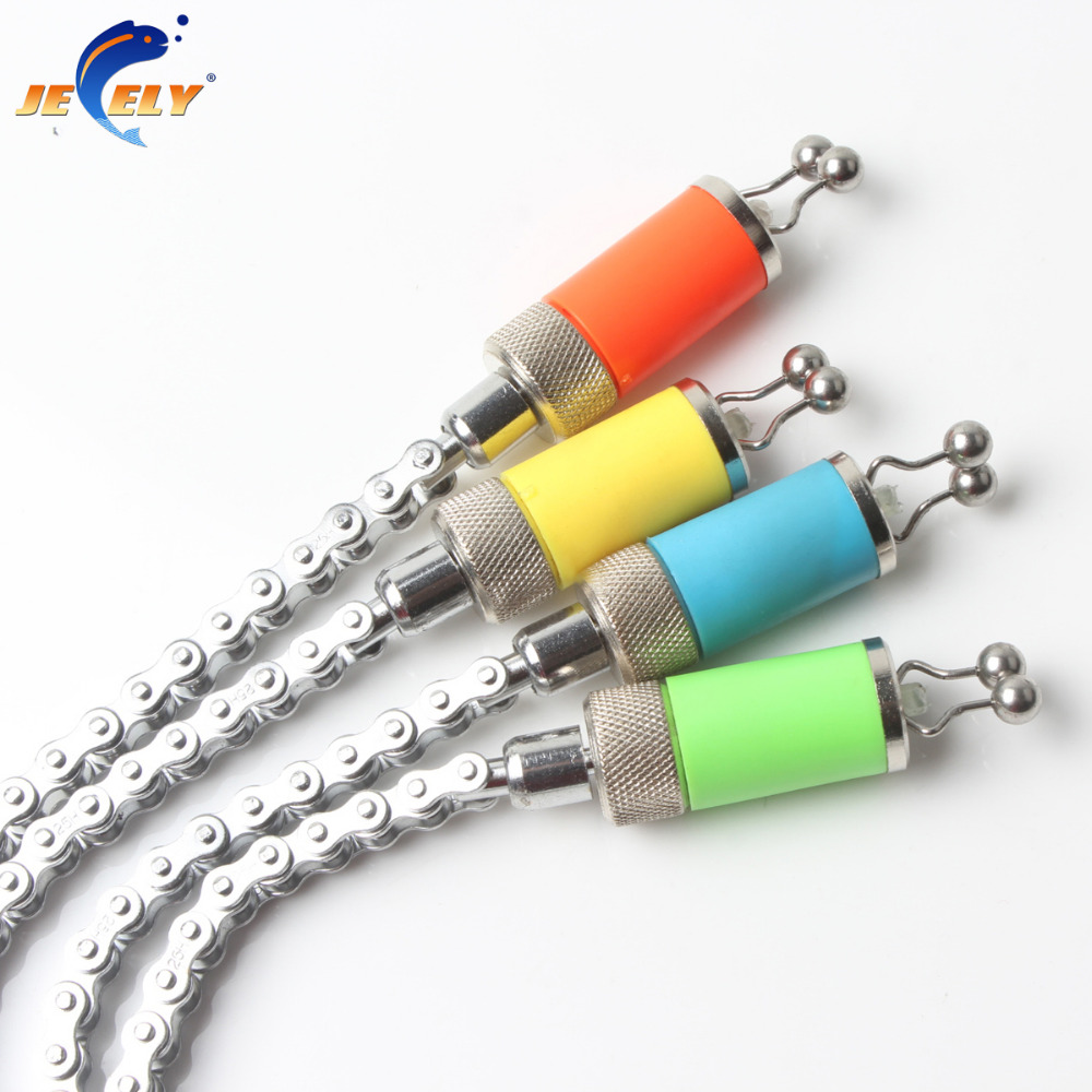 ALI shop ...  ... 32786757995 ... 2 ... Fishing Swinger Steel Chain Stainless Steel Aluminum Set Swinger Carp Fishing Indicator 4 Colors for bite alarm ...