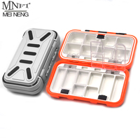 MNFT 1Pcs High Quality Plastic Fishing Tackle Box Waterproof Fly Fishing Lure Spoon Bait Fishing Boxs
