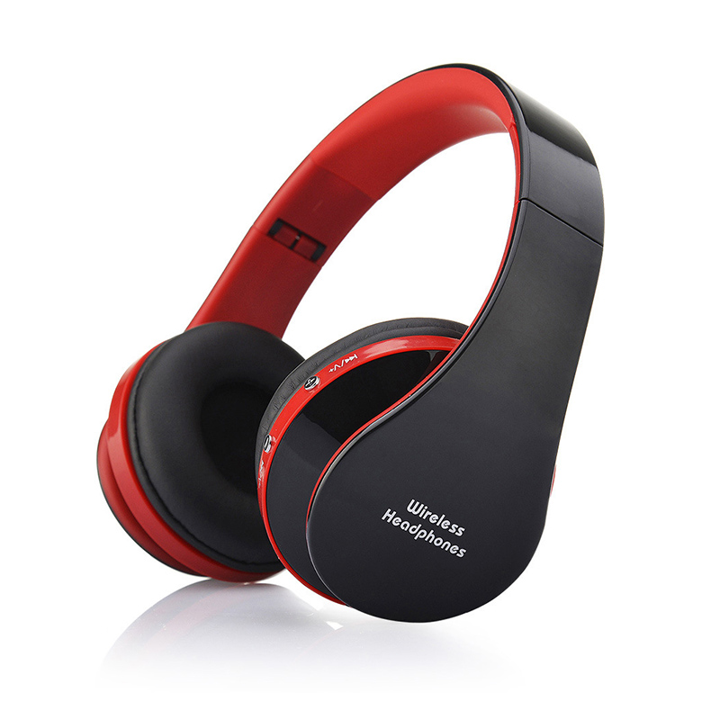 NX-8252 Wireless Bluetooth Headphones Stereo Headset Foldable Sports Earphone V3.0+EDR with Microphone for Smartphone PC Laptop ultra light wireless bluetooth stereo headphones earphone headset with microphone for android smartphone iphone7 6 6s tablet pc
