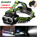 High Quality  8000LM 2X XM-L T6 LED Rechargeable 18650 USB  Light Torch