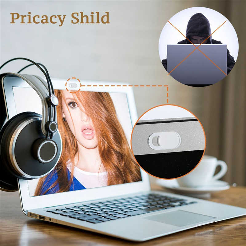 2019 WebCam Cover Shutter Magnet Slider Plastic Camera Cover for Web Cam Phone PC Laptops Cell Phone Lens Protect Privacy Kits