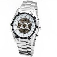 Winner אופנה שלד Mens שעוני יוקרה מותג עליון ספורט גברים שעון שעון האוטומטי מכאניים שעונים Relogio Masculino