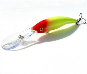 Image 2 - 2 pçs língua longa minnow isca de pesca 14g 13.5cm isca dura flutuante crankbait pesca de topwater wobblers peixe equipamento de pesca