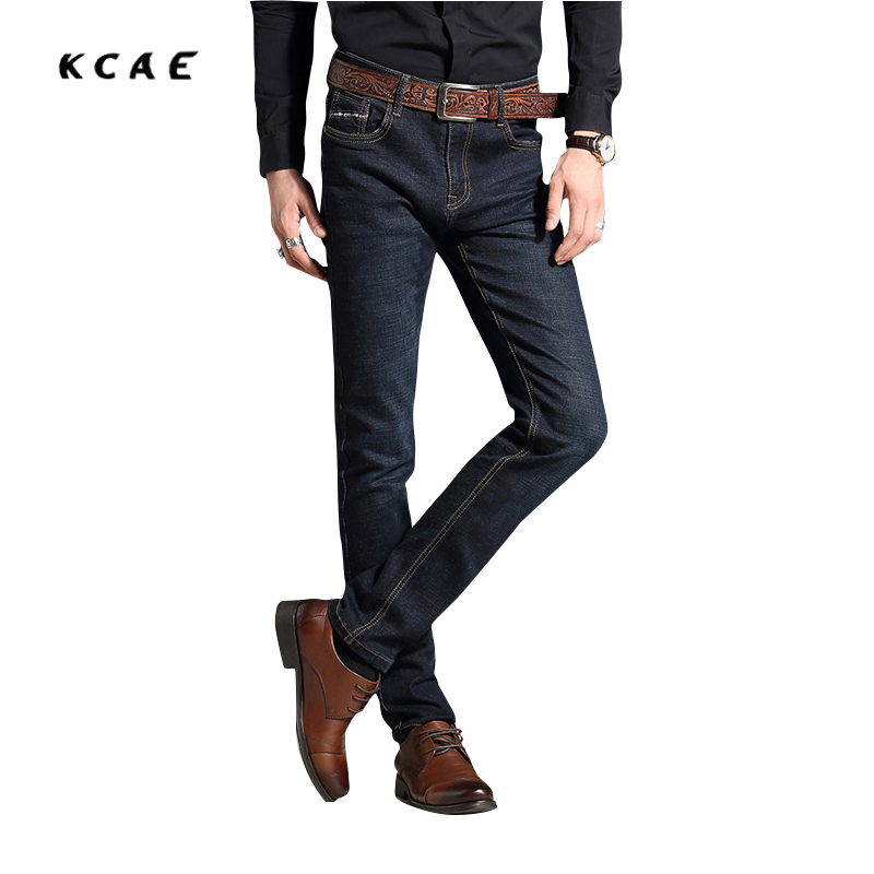 New men jeans straight jeans fashion cotton solid color wild people good quality jeans Business casual pants free shipping