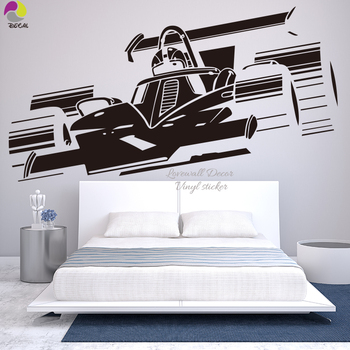 NEW Shelby VW CHEVROLET GT Ford Mustang Muscle Racing Car Wall Decal Art Home Decor Vinyl Wall Sticker Boy Room Mural Ecosport image