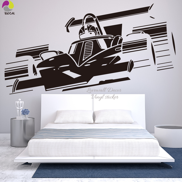 NEW Shelby VW CHEVROLET GT Ford Mustang Muscle Racing Car Wall Decal Art Home Decor Vinyl & NEW Shelby VW CHEVROLET GT Ford Mustang Muscle Racing Car Wall Decal ...