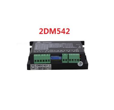 ФОТО 24-48VDC 256 Subdivision CNC Micro-Stepping Name23 2DM542 Stepper Motor Driver replace M542,2M542 2phase 4.2A