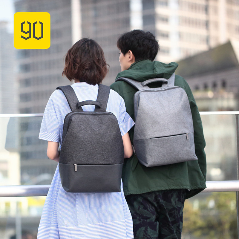 Xiaomi 90FUN Urban City Simple Backpack 14inch Laptop Waterproof Mi Rucksack Daypack School Bag Learning Portable Backpacks xiaomi 90fun urban city simple backpack 14inch laptop waterproof mi rucksack daypack school bag learning portable backpacks