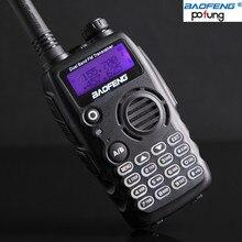 Baofeng a-52 nueva versión de doble banda 136-174/400-520 mhz walkie talkie radio de dos vías fm transceiver a52 escribiendo teclado más brillante