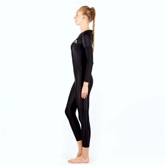 5ed6b532b8 placeholder HXBY Long Sleeve Swimwear Women One Piece Swimsuit Swimming Suit  For Women Swim Wear Full Body
