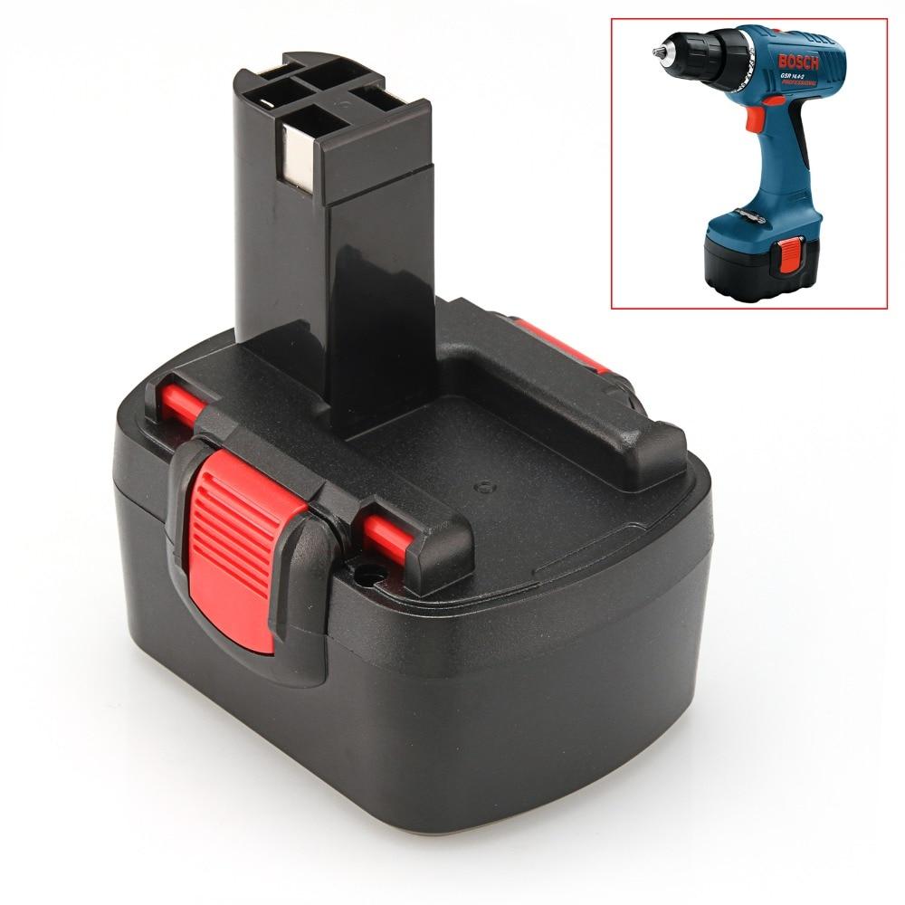Pour 14.4 V Ni-cd 1.5Ah Batterie De Remplacement pour Bosch 2 607 335 711 2 607 335 678 BAT038 BAT040 BAT041 BAT140 BAT159