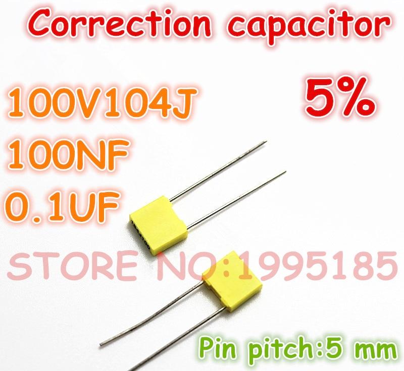 Multilayer ceramic capacitor 470PF NPO 5mm 100pcs