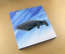 플레이 스테이션 4 슬림 ps4 슬림 2000 게임 콘솔 새로운 하우징 쉘 케이스 커버 스킨 교체
