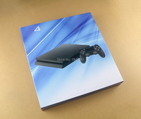 For Playstation 4 Slim for PS4 Slim Game Console New Housing Shell Case Cover Skin replacement
