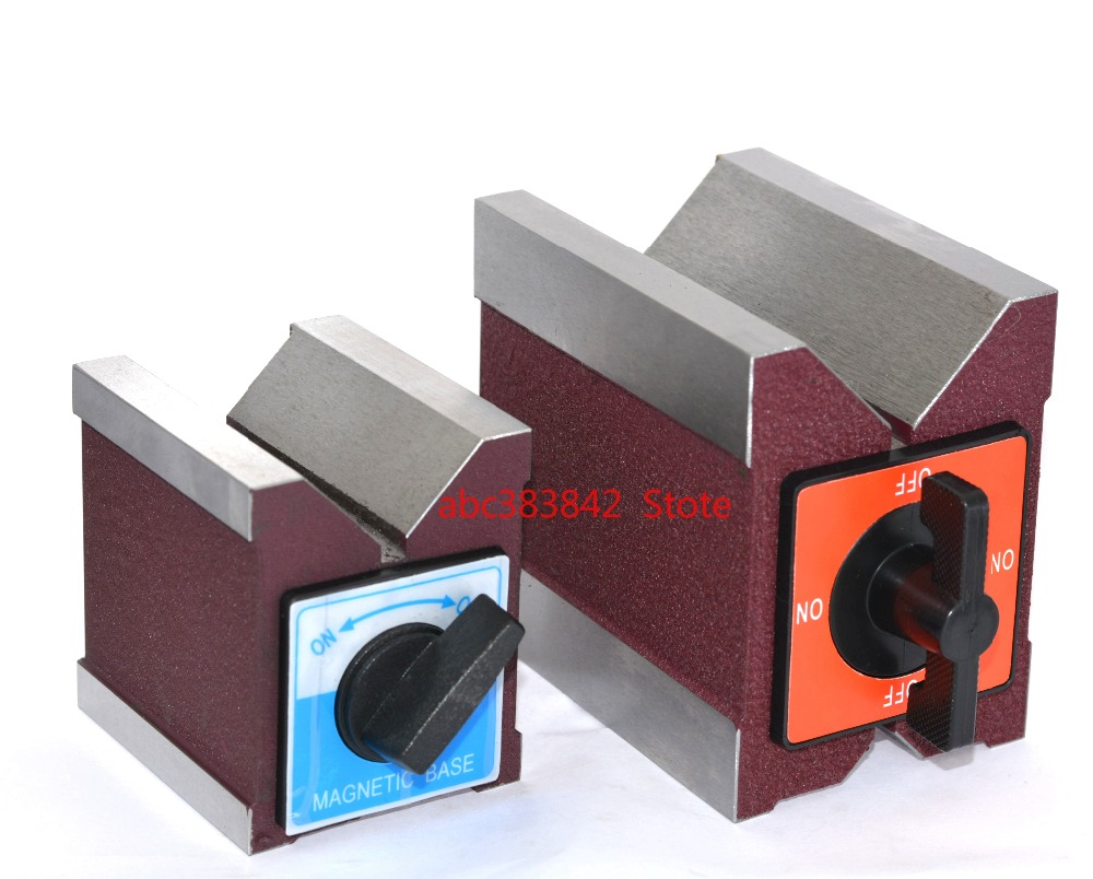 Magnetic V stage magnet triangle stage WEDM magnet base switching magnet 7K12K strong magnet fixer
