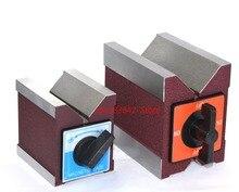 Magnetic V-stage magnet triangle stage WEDM magnet base switching magnet 7K12K strong magnet fixer