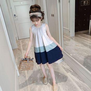 c597f6015 Vestidos para niñas 2019 Venta de verano nuevo estilo tres colores a juego  vestido de tirantes para niños vestidos para niños las niñas