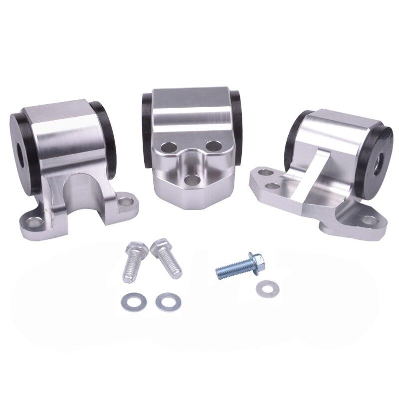 Kit de montage de moteur d'échange en aluminium pour billette en argent EG pour Civic EH DC D15 D16 B16 B18