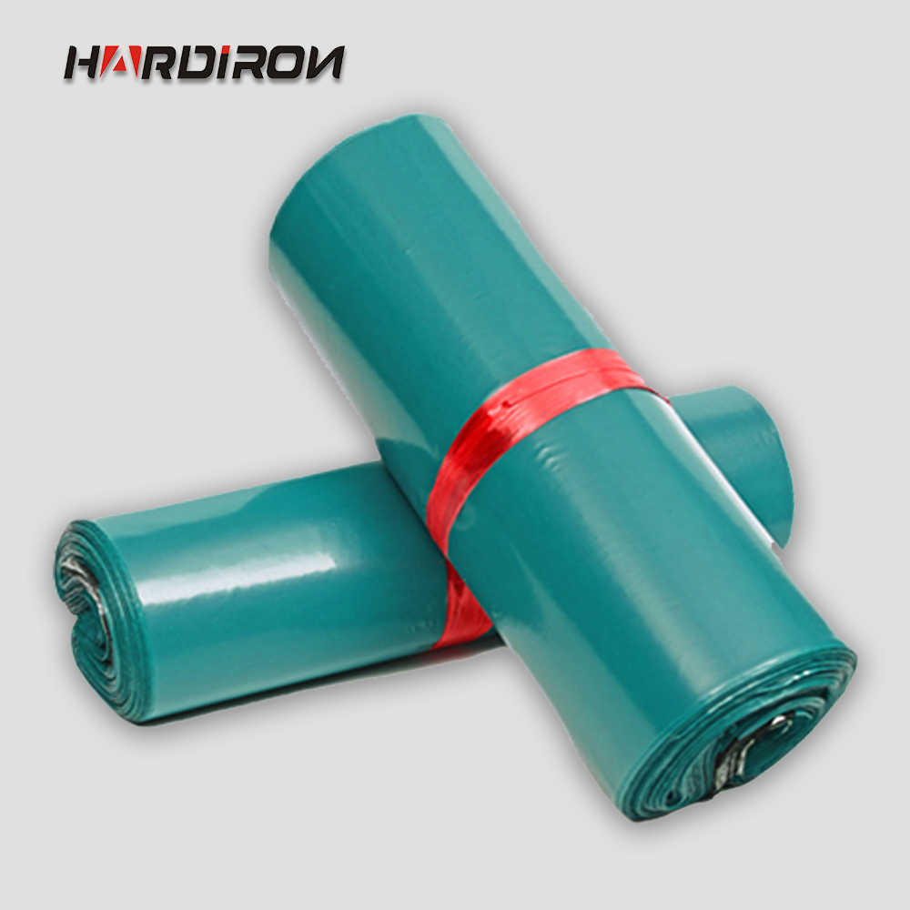 HARDIRON Green Poly Mailer Plastic Shipping Mailing bags Envelopes Poly Pouches Strong Plastic Seal Postage Bags