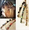 2 PCS Hot Women's Girls Korean Fashion Crystal Hair Bands Alloy Rhinestone headband Barrette Hairpin Hair Clip Hair Accessories