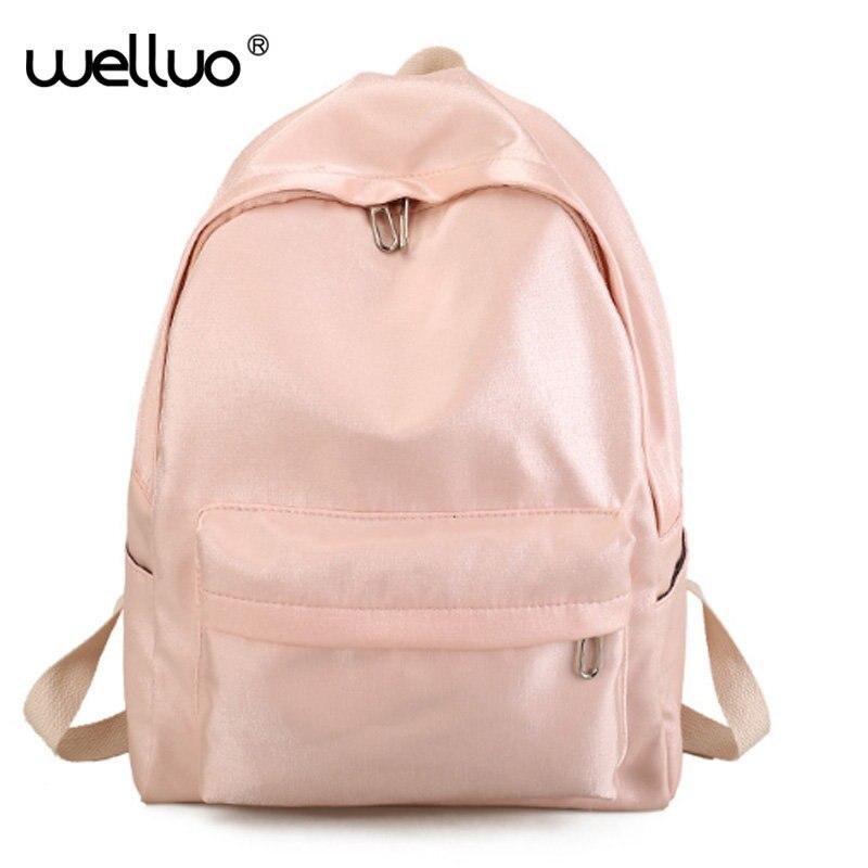 Fashion Designer Women Backpack Female School Leather Shoulder Bags Waterproof Travel Bag Girls Shiny Backpacks Teenagers