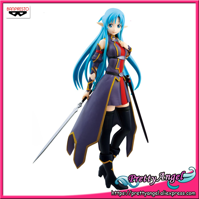 Japan Anime Original BANPRESTO SQ Sword Art Online II AOL Collection Figures - Yuuki Asuna ALO ver.(Special Color) смартфон lenovo vibe s1 lite midnight blue