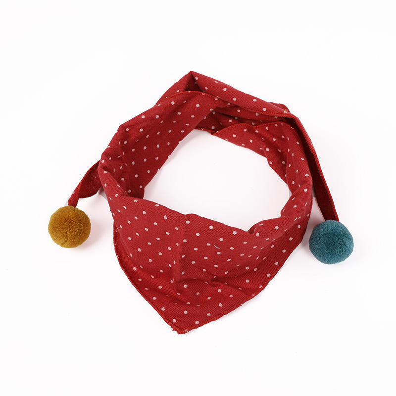 2020 New Spring Summer Cotton Baby Triangle Scarf Pure Color Infant Girls Bibs Scarf Baby Boys Scarf Toddler Burp Cloth