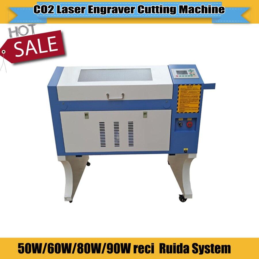 Cheap Price Laser Engraver Cutting Machine Rubber Laser Engraving Machine 4060 Ruida System For Rubber Stamp Diy Caving