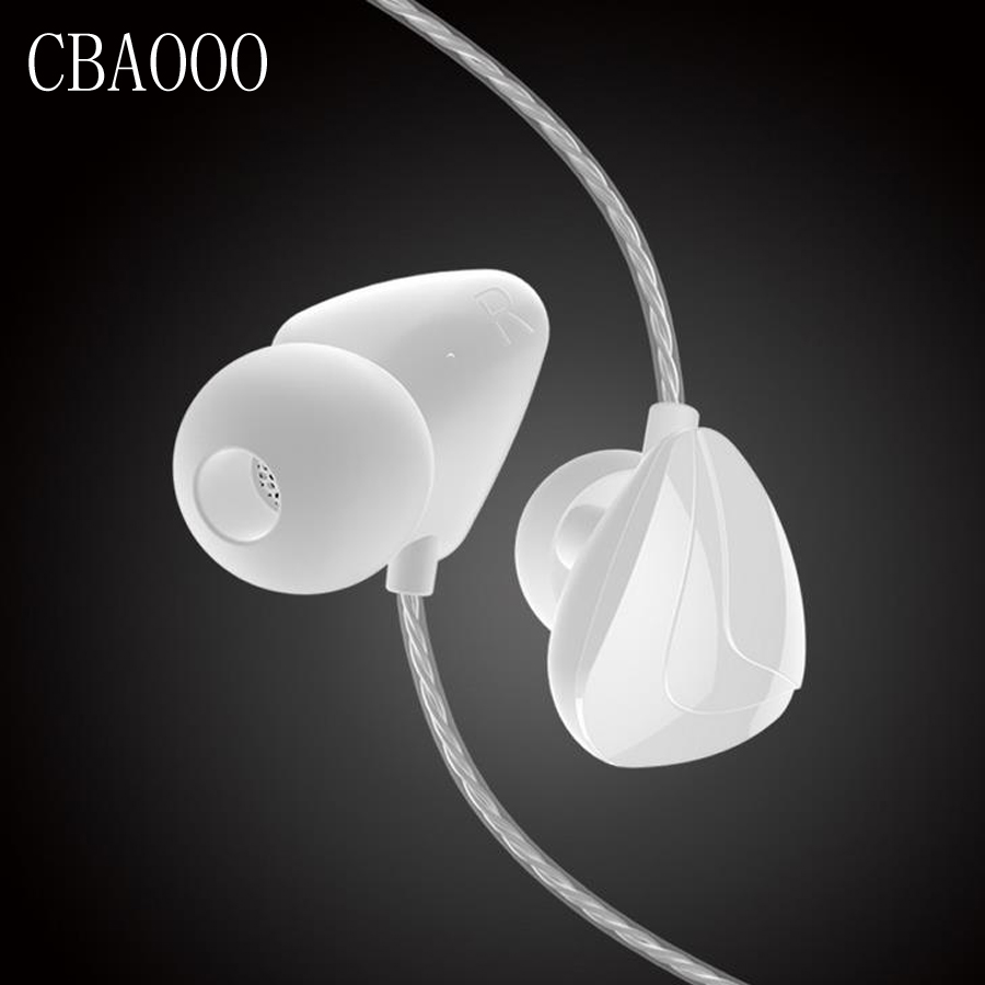 CBAOOO Stereo Earphone Wired In-ear Headset Ear Hook Earbuds Headphone With Microphone Noise Canceling Earphones For phone PC original senfer dt2 ie800 dynamic with 2ba hybrid drive in ear earphone ceramic hifi earphone earbuds with mmcx interface
