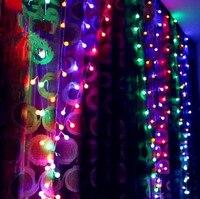 Oferta 3X3M Año Nuevo LED De Navidad Luces Luzes De Natal Navidad guirnaldas decoración guirnaldas De Luces