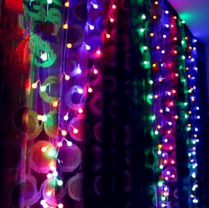 3X3M New Year LED Cristmas Lights Luzes De Natal Christmas Garlands Decoration LED String Fairy Lights Luces De Navidad