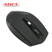 IMICE Mini Slim Wireless Mouse 2.4GHz Cordless 1200DPI Adjustable PC Computer Notebook Mice Work Optical