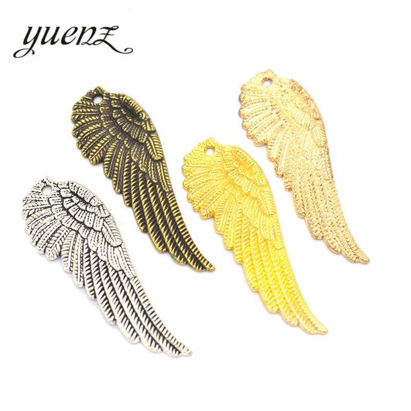 17mm Silver Yellow Plated Bird Charm