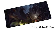 Kog'Maw mouse pad 900x400mm pad mouse lol notbook computer mousepad Mouth of the Abyss gaming padmouse gamer laptop mouse mats