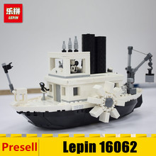Lepin 16062 Movie Series Ideas Steamboat Willie Set Building Blocks Bricks Kids Christmas Gifts DIY Toys with The LegoING 21317(China)