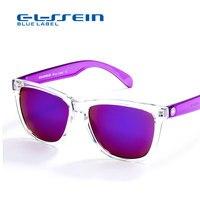 COLOSSEIN BLUE LABEL Plastic Fashion Sunglasses Women Rectangle White Frame Cool Eyewear Popular Female Beach Glasses