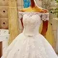 Blanco Retro diamante encaje Sexy Vestido De novia manga corta Extreme vestidos De boda De lujo Vestido De novia nuevo ofu o le faaipoga