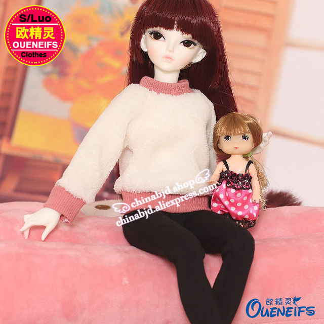 OUENEIFS free shipping ,Autumn or winter sweater,pants or A full suit of clothes,1/4 bjd/sd doll clothes,no doll or wig YF4-167 4
