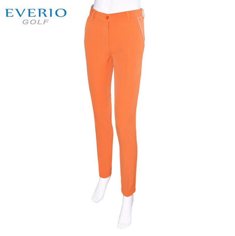 EVERIOwomen Colorful golf pants autumn high stretch slim ...