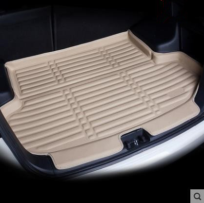 Fit For Peugeot 2008 2013-2018 Rear Trunk Cargo Mat Boot Liner Tray Floor Carpet Mud Kick Protector Pad 2014 2015 2016