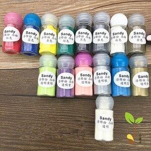 Image 3 - Tłoczone proszku, 10 ml 7 butelek/8 butelek/15 butelek zestaw tłoczenie w proszku DIY farby pieczątka scrapbooking narzędzia
