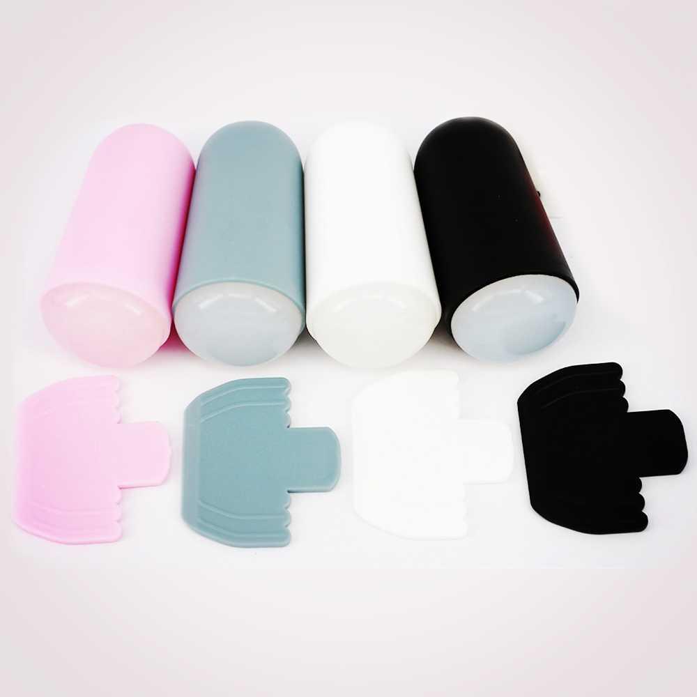2018 ใหม่เล็บชุดปั๊ม Stamper ซิลิโคน XL Jumbo Marshmallow เล็บเครื่องมือ 4 สี