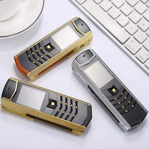 """Image 4 - Nga Bàn Phím Nút Kim Loại Sang Trọng + Tặng Bao Da Nhà Ở Gốc Trung Quốc Năm 1.8 """"Màn Hình GSM Dual Sim Kiêm Bluetooth Di Động điện Thoại"""