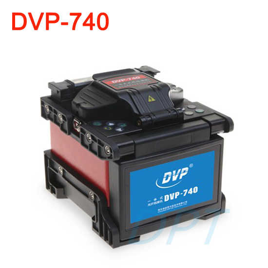 Marca nueva 100% Original Multi-idioma DVP740, empalmador de fibra óptica, fusión arco FTTx/FTTH, máquina de empalme de fibra óptica DVP-740