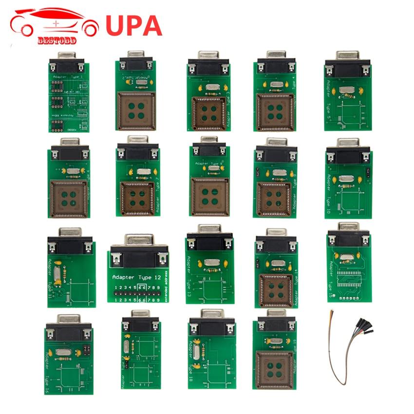 Prix pour OBD2 UPA Plein Adaptateur pour USB Programmeur UPA-USB Programmeur ECU Chip Tuning Outil