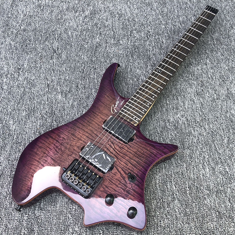 2019 High Quality Headless Electric Guitar Rosewood