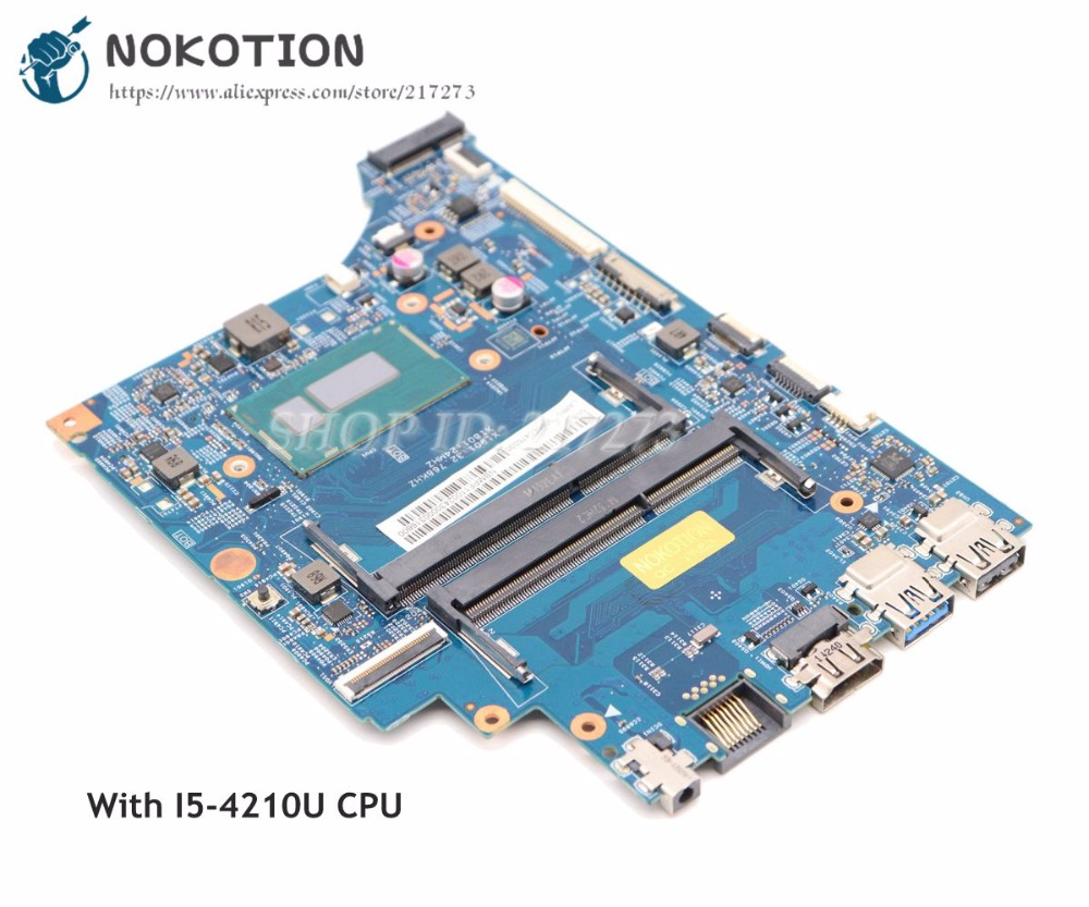 NOKOTION For Acer aspire V3-331 V3-331G Laptop Motherboard 448.02B17.0011 NBMPF11002 MAIN BOARD I5-4210U CPU DDR3L