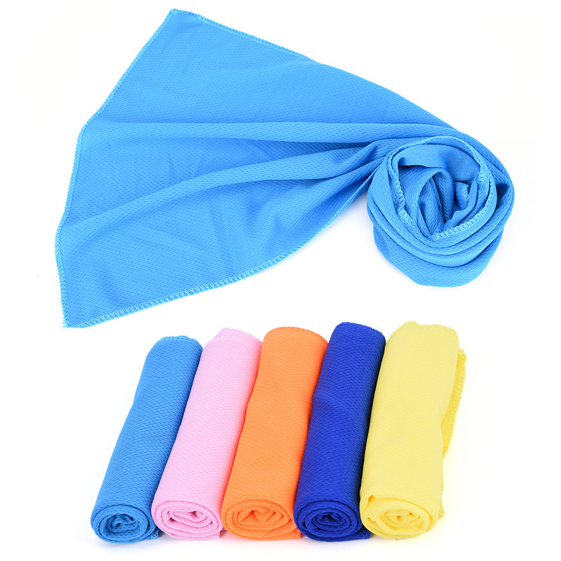 Face Towel Dream Meaning: Sport Ice Towels 5 Colors 30*80cm Utility Enduring Instant