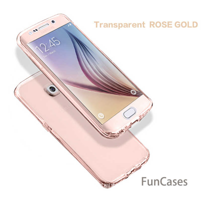 Caja del teléfono celular para Samsung galaxy Note 8 9 S6 S7 borde S8 S9 más S3 duos S4 S5 neo S6Edge S7 edge S8Plus S9Plus cobertura completa 360