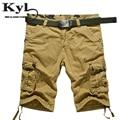 2016 New men summer military cargo shorts bermuda masculina jeans male fashion outdoor baggy cargo shorts